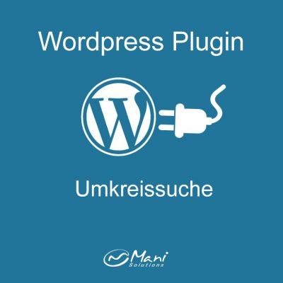 wordpress plugin umkreissuche